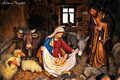 nativity scene by Atman Victor