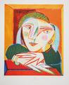 Femme Accoudée à sa Fenêtre by Picasso Estate Collection