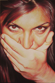 shut up! by Ivan Toninato