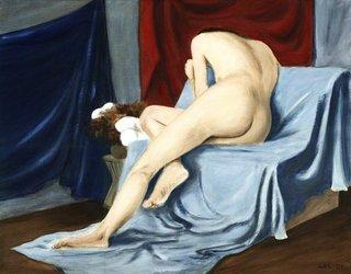 Fine Art Female Nude, 2001 by g. linsenmayer