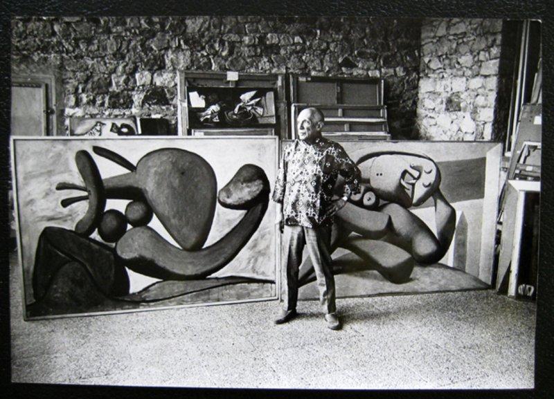 A Legend In His Lifetime Original Art By Pablo Picasso
