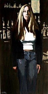 Portrait of Eva by g. linsenmayer