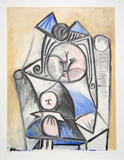 Fillette à la Poupée by Picasso Estate Collection