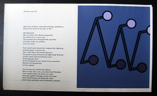 Oh! if one of them, some fine evening, would try by Patrick Caulfield