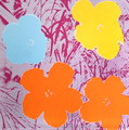 Flowers VIII by Andy Warhol