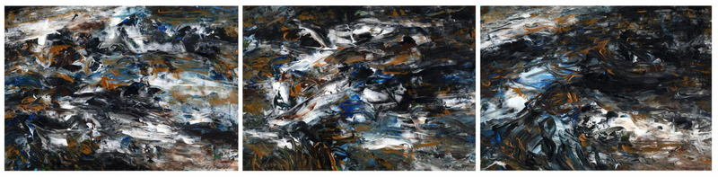 Triptych OF-21 by Oleg Frolov