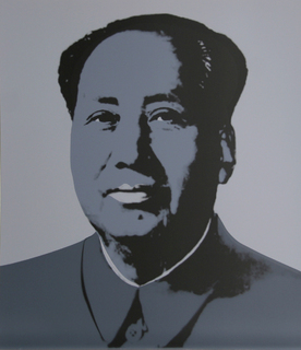 Mao 1 by Andy Warhol