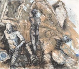 Figures by Hilary Senhanli