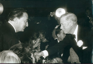 Dali with the Duke of Windsor by Salvador Dalí
