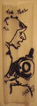 """Ink on cigarette paper """"THE FOOL"""" by josep grifoll casas"""
