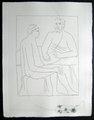 Numa suit les cours de Pythagore by Pablo Picasso