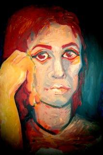 PORTRAIT MATILDA by Raquel Sara Sarangello