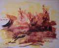 Abstract series 09-5 by Rosario de Mattos