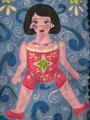 CARDBOARD DOLL by MAGDALENA ALVARADO
