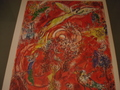 Vintage Chagall Lithograph 1971 by Marc Chagall