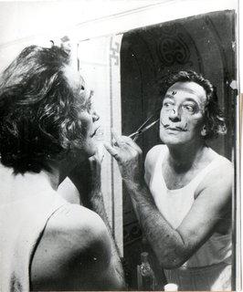 Salvador Dali Moustache Miroir by Salvador Dalí