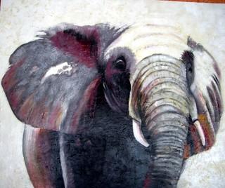 elefant de Malawi by MONTSE PARÉS FARRÉ