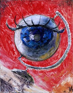 "Globe au cul l'air (eyeball, french play on word) by Thierry  ""Deth"" Delsart"