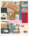Red, White + Blue by Peter Blake