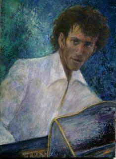 Pianist by Sylva Zalmanson