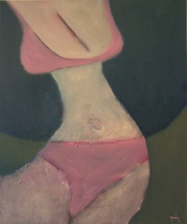 Pink Bikini by Scott Andrew Spencer
