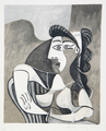 Femme Accoudée au Fauteuil by Picasso Estate Collection