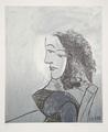 Buste de Femme aux Cheveux Bouclés by Picasso Estate Collection