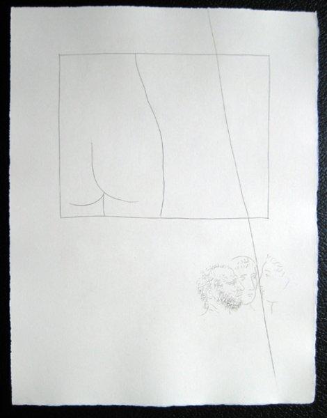 Fragment De Corps De Femme Original Art By Pablo Picasso