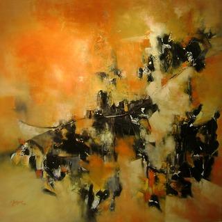 Suburban landscape by Lidia Solanot
