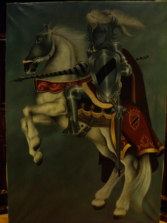 Medieval knight by PACHI
