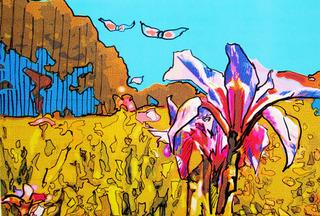 Landscape Art SPRING by Raquel Sara Sarangello