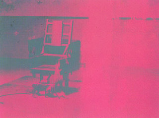 Electric Chair - II.75 by Andy Warhol