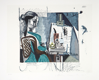 Femme dans l' Atelier by Picasso Estate Collection
