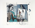 Femme dans l' Atelier by Picasso Estate Collection
