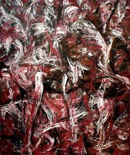 Abstract Painting OF-A22 by Oleg Frolov