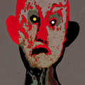 1 The kicker. Rorschach Heads III Series. by Jose Manuel Ciria