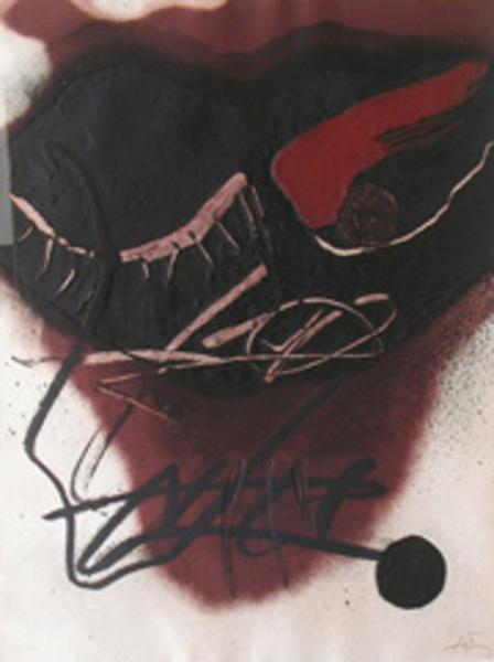 Figura by Antoni Tàpies