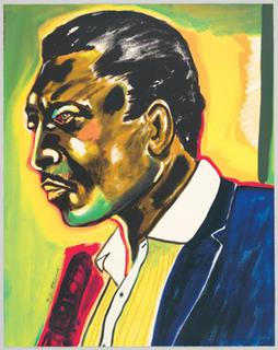John Coltrane by Frederick Brown