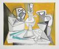 Tête de Mort, Lampe, Cruches et Poireaux by Picasso Estate Collection