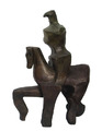 Untitled - Horse and Rider by Pearl Amsel