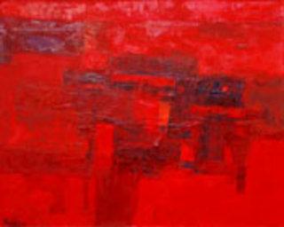 Red Street by Pham An Hai