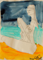 GIRL ON THE BEACH 2 by Jorge Berlato
