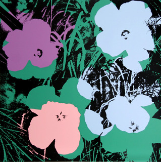 Flowers II by Andy Warhol