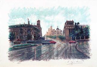 Cibeles by Eugenio Lopez Berrón