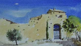 St. Martin de Castillon 2, Provence by Neville Eldridge