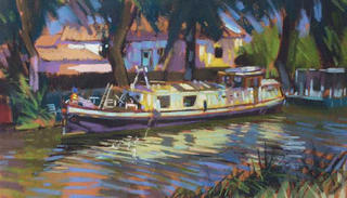 Barge Study by David Napp