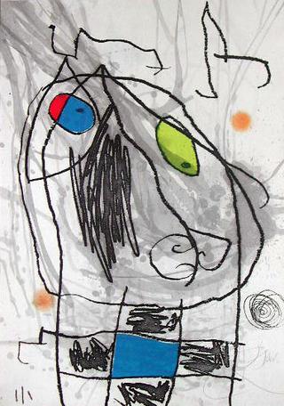 Passage de L'Egyptienne XVIII by Joan Miró