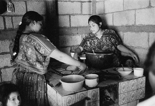 Rosa's Kitchen, Guatemala by Helen M. Stummer
