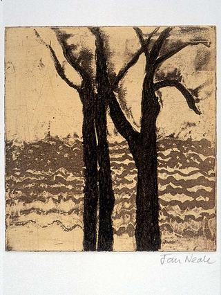 Tree with Sea by Jan Neale