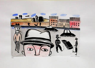 Popeye in Town by Antonio Santos
